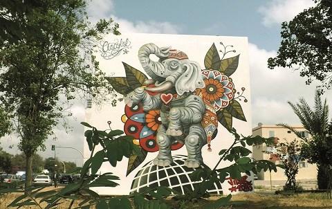 Jidar 2015 rabat street art