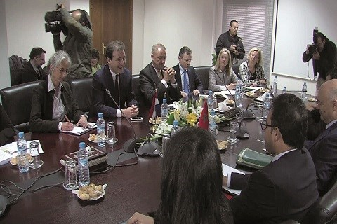 Negociations maroc hollande retraites marocains mai 2015
