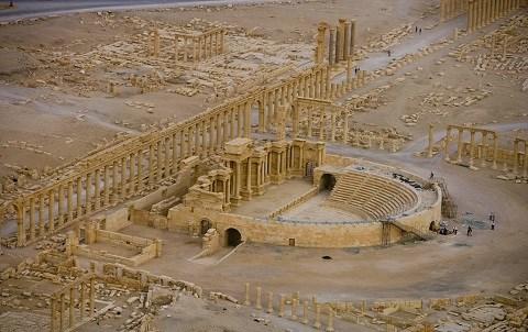 Palmyre Syrie 2015