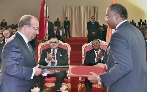 Partenariat maroc cote d ivoire juin 2015