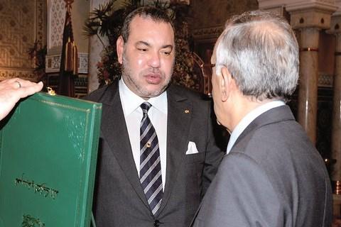 Reforme de l ecole maroc roi recoit azziman mai 2015