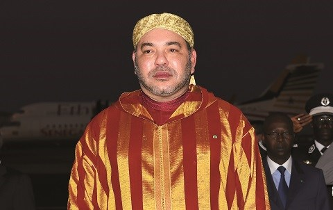 Roi du maroc au senegal mai 2015