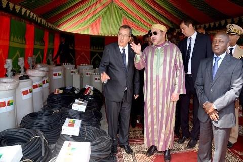 Roi du maroc et president guinee bissau
