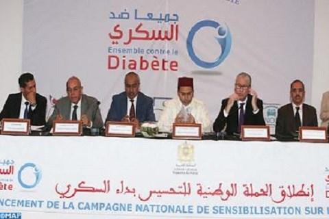 Campagne contre le diabete maroc juin 2015