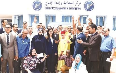 Fondation mohammedVI pour reinsertion des ex detenus juillet 2015