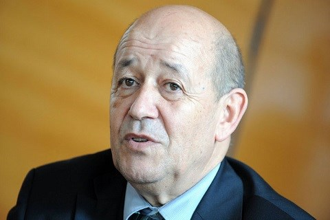Ledrian ministre defense france