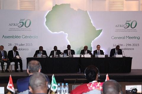 Africa50 assemblee generale juillet 2015