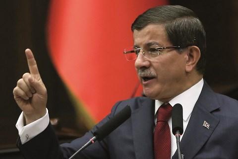 Ahmet davutoglu premier ministre turc