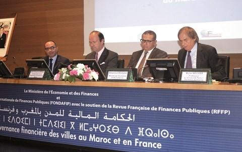 Colloque gouvernance villes maroc france 2015