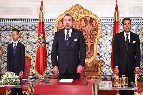 Discours roi du maroc 20 aout 2015