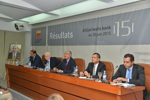 Le top management attijariwafa bank 2015