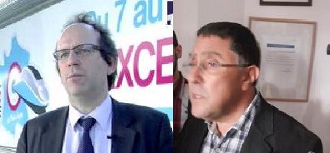 Damien Goetz et Ismal Akalay