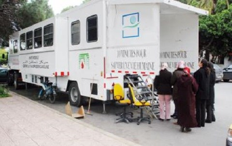 Don du san camion ambulant maroc