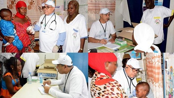 Caravane : Les médecins marocains au Sénégal