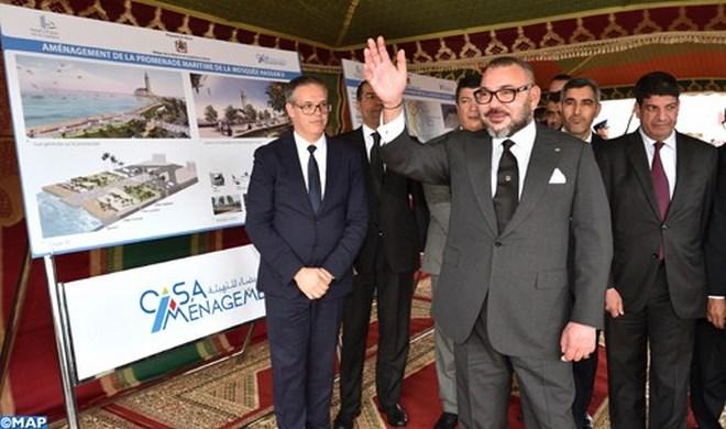 Corniche de Casablanca : Coup d'envoi du projet promenade maritime