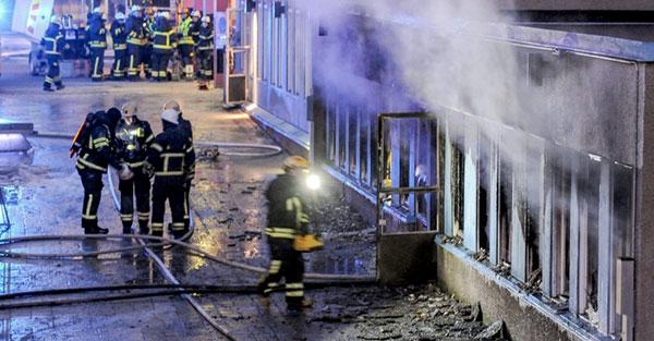 Suède : Arrestation d'un homme soupçonné d'avoir incendié une mosquée