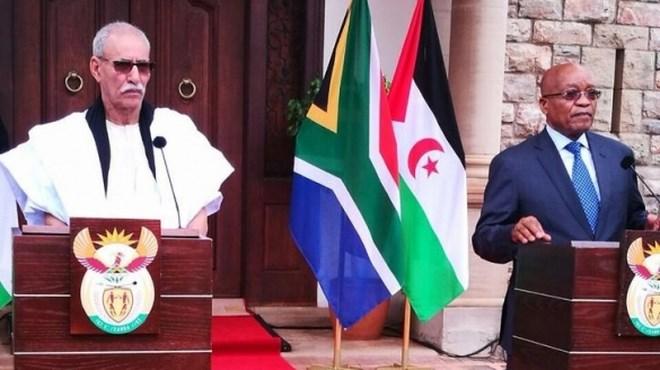 Polisario : Brahim Ghali quémande le soutien de Zuma
