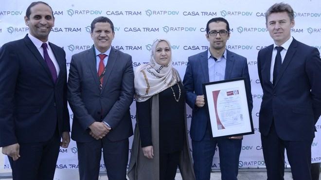 Casa Tram : Les activités de maintenance certifiées ISO 9001