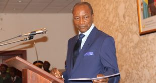 Alpha Kondé nouveau président de l'UA