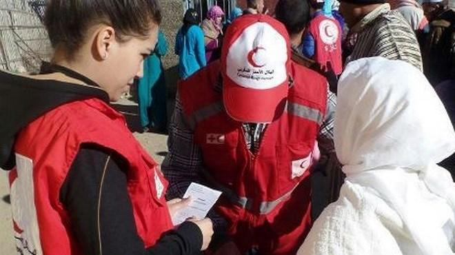 Croissant rouge/Maroc : Au secours de 700 familles rurales