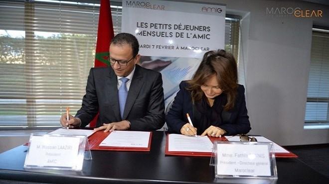 Maroclear : Partenaire de  l'AMIC pour la dématérialisation