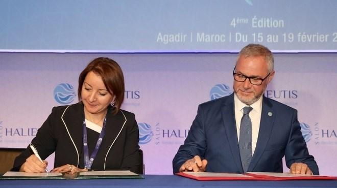 FAO- Maroc : Coopération renforcée en matière de croissance bleue