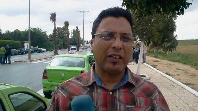 Mustapha El Kihel, SG de la Fédération nationale des professionnels du transport et des taxis.