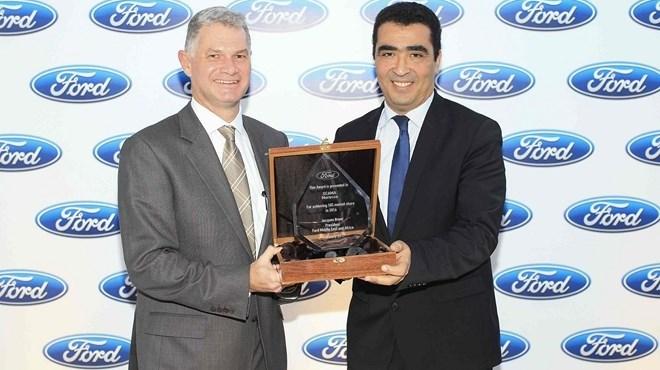 Ford se félicite de ses performances au Maroc