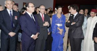 IMA : Lalla Meryem et François Hollande à l'expo des manuscrits rares