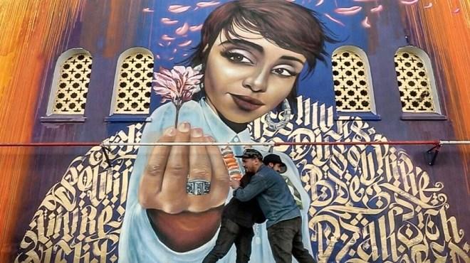 Fresques urbaines en hymne à la vie