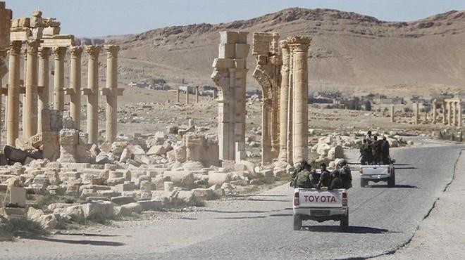 Palmyre : Nouvelle reconquête