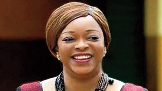 Reekya Madougou, ancienne Garde des sceaux, ministre de la Justice, de la Législation et des Droits de l'homme du Bénin
