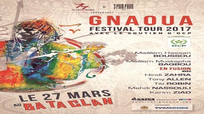Le «Gnaoua festival tour 2017» au Bataclan !
