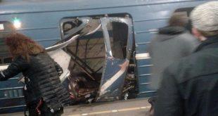 Forte explosion à Saint-Pétersbourg: Un attentat en Russie?