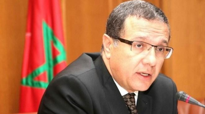 Mohamed Boussaïd, ministre de l'Economie et des Finances