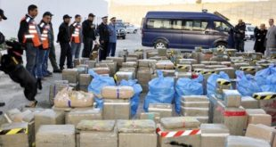 Trafic international de drogue : Saisie record à Nador