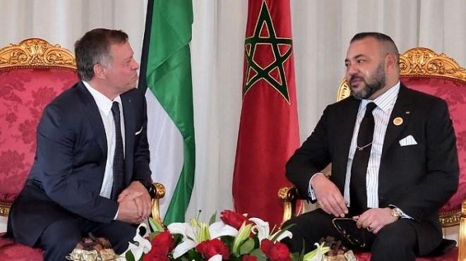 Entretiens entre SM le Roi Mohammed VI et le Souverain du Royaume hachémite de Jordanie