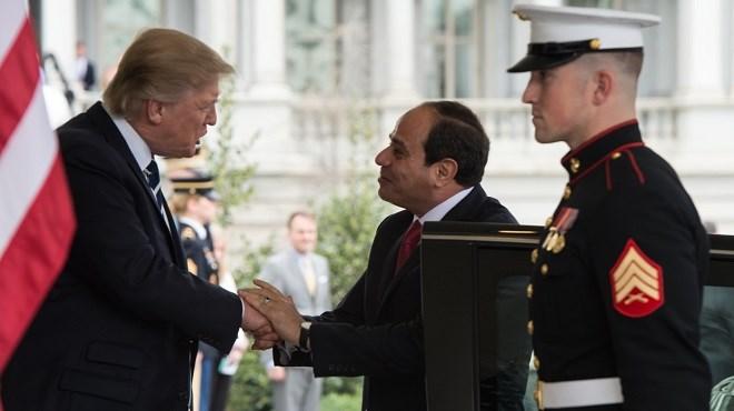 Egypte : Trump joue la carte Sissi