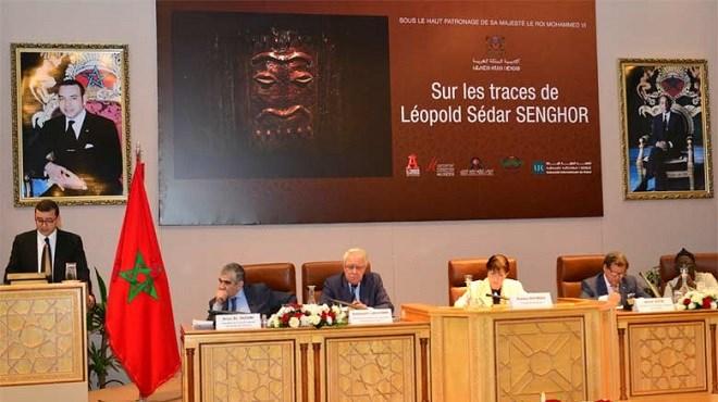 L'Académie du Royaume du Maroc rend hommage à Senghor