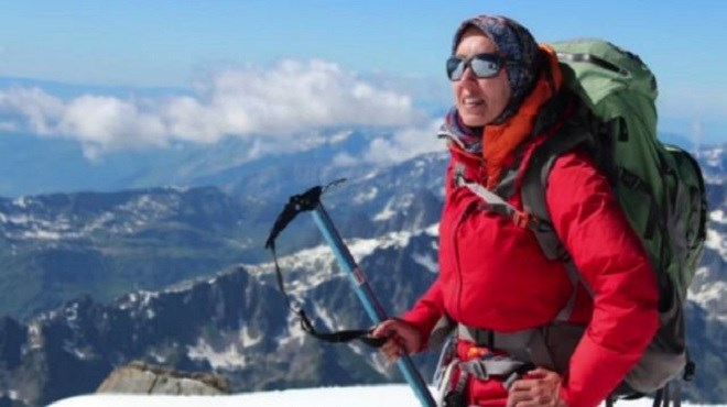 L'alpiniste Bouchra Baibanou ne lâche pas prise