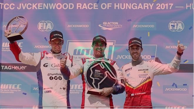 WTCC 2017 : Mehdi Bennani remporte la Course principale en Hongrie