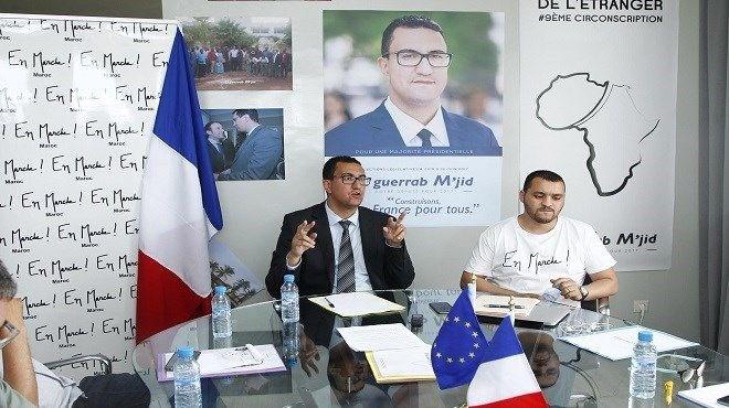 Législatives françaises : M'jid El Guerrab officiellement investi par LREM