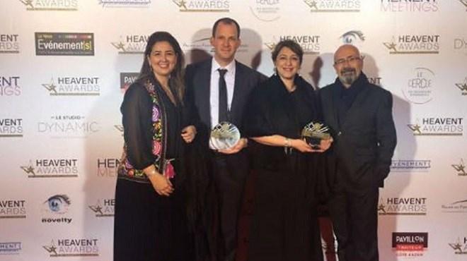 Mosaïk Events & Co : Le «Heavent Awards»  haut la main