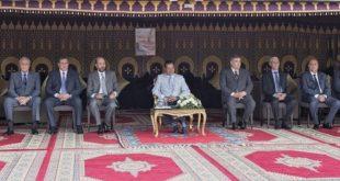 Arts équestres traditionnels  Tbourida : Le Prince Moulay Rachid prime les gagnants