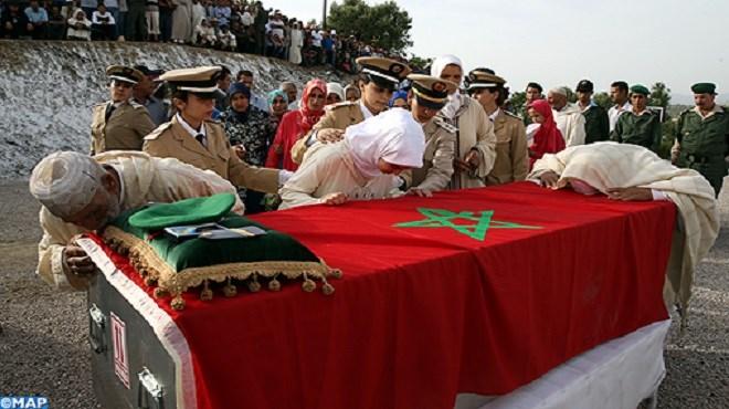 Minusca : Emouvantes obsèques du casque bleu des FAR au Maroc