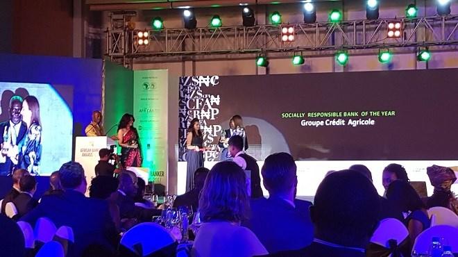 Crédit Agricole Maroc: Lauréat de l'African Banker Awards 2017