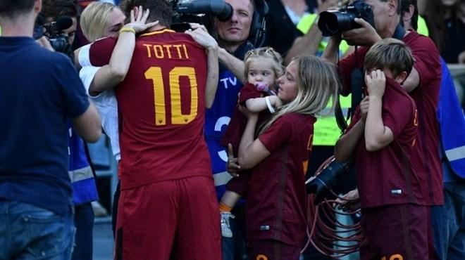 Totti signe son dernier match