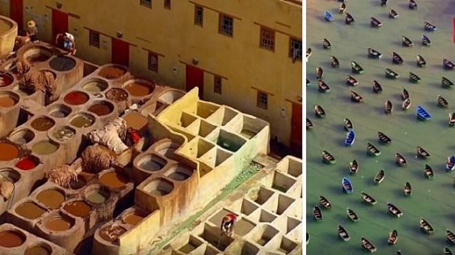 Sublime Maroc, vu du ciel!