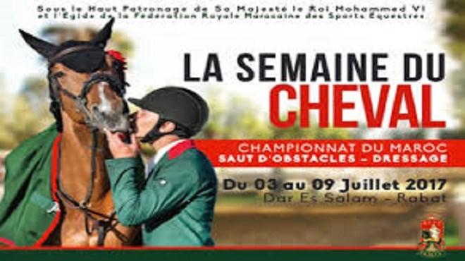 Maroc : La Semaine du Cheval du 3 au 9 juillet