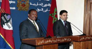 Sahara : Le Swaziland réitère son soutien au Maroc